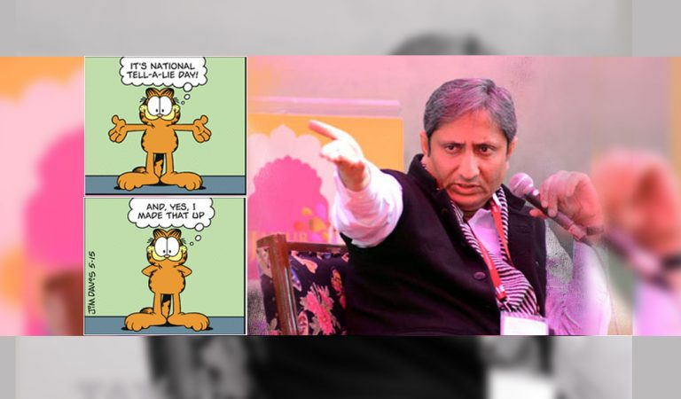 Why does Ravish Kumar's conclusion about current state of Indian media stay wrong?